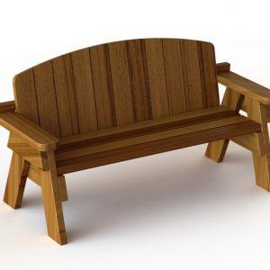 ספסלים עץ