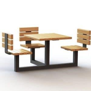 ספסל מונגש