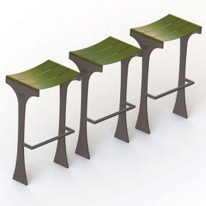 כיסאות בר לרחוב