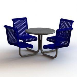 ספסל כרם עם שולחן