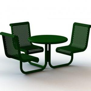 ספסל עם שולחן