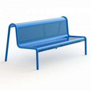 ספסל מברזל